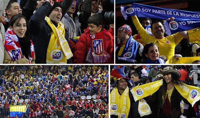 NOURECLAM ha sido la empresa elegida para la realización de las 5.000 bufandas que sirvieron de animación en el partido de liga del At. Madrid y el Getafe y
